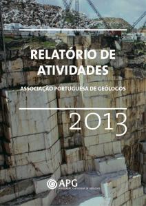 CapaRelatorioAtividades2013APG